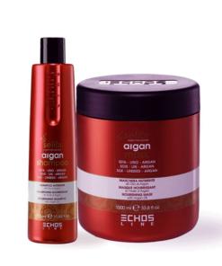 Echosline Argan Maschera e Shampoo
